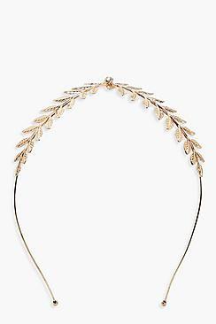 Jessica Leaf Centre Headband