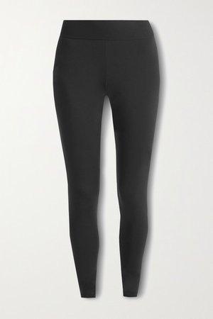 Butter Stretch-jersey Leggings - Black