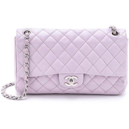 chanel lilac bag