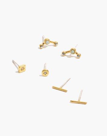 Gemline Stud Earring Set