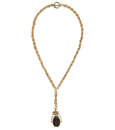 Knot Pendant Gold-Plated Necklace | Rejina Pyo - Mytheresa