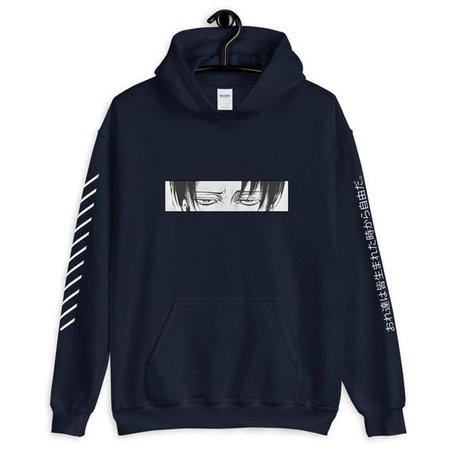 anime attack on titans hoodie