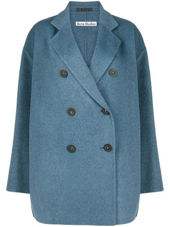 Acne Studios Oversized double-breasted Coat - Farfetch