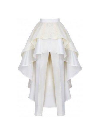 white skirt/pants