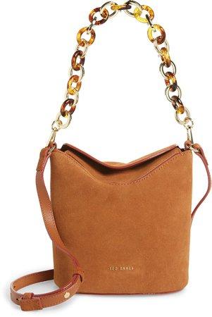 Brookks Leather Bucket Bag