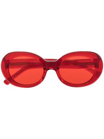 AMBUSH Kurt round-frame sunglasses - FARFETCH
