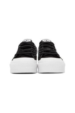 ADIDAS ORIGINALS Black Nizza Platform Sneakers