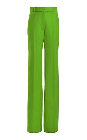 Textured Split Hem Straight-Leg Pants By Victoria Beckham | Moda Operandi