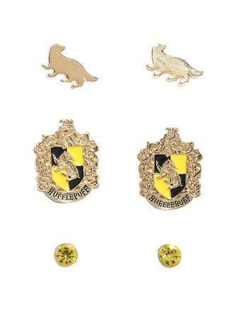 hufflepuff earrings