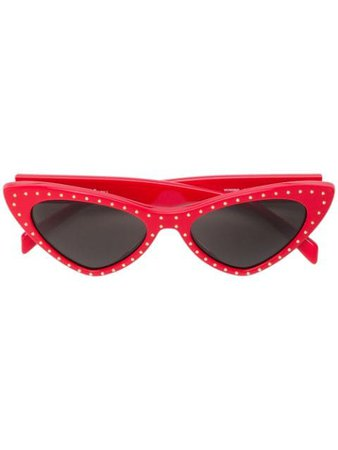 Moschino Eyewear Cat Eye Sunglasses - Farfetch