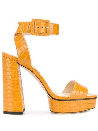 Jimmy Choo JAX/PF 125 Platform Sandals - Farfetch