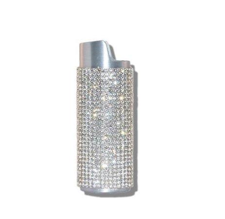 silver bling lighter