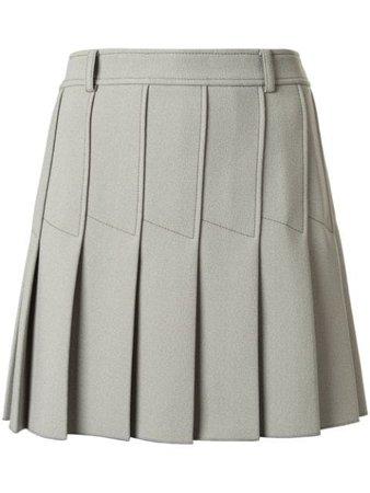 Dion Lee Column Pleat Mini Skirt - Farfetch