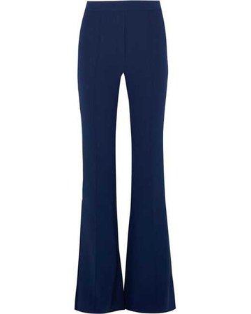 Lyst - Ellery Orlando Crepe Flared Pants in Blue