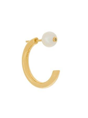 Maria Black Elly Pearl Earring - Farfetch