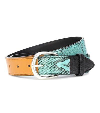 Cecile leather belt