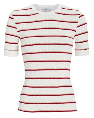 70's Ribbed T-Shirt | INTERMIX®