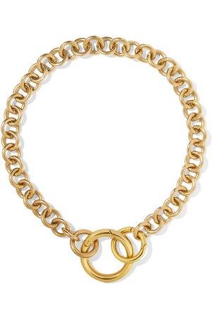 Laura Lombardi | Fede gold-tone necklace | NET-A-PORTER.COM