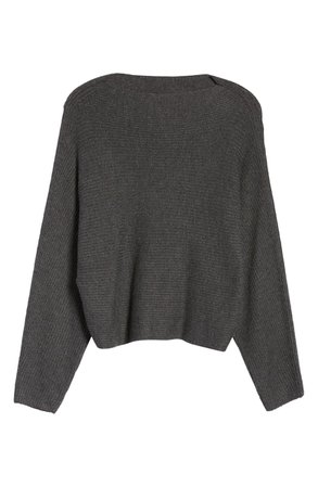 Leith Dolman Sleeve Sweater grey