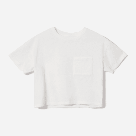 Women's ReCotton Cropped Pocket Tee | Everlane
