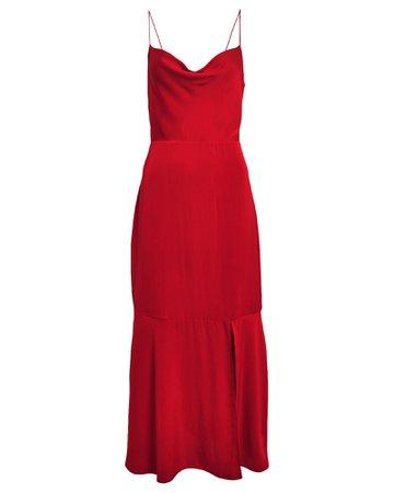 Paris Silk Slip Dress