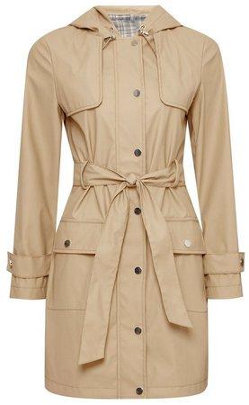 DP Petite Stone Raincoat