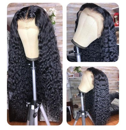Fake Scalp Lace Front Wigs Curly Remy Human Hair Wigs丨Brazilian Curly Wig| Jessie's Selection | Jessie's Selection
