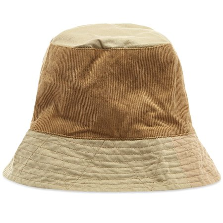 Engineered Garments Mix Bucket Hat Khaki | END.