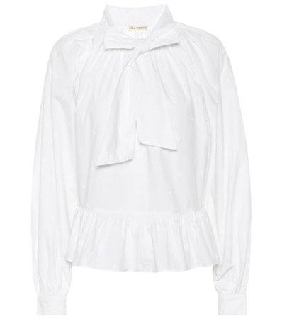 Queenie cotton blouse
