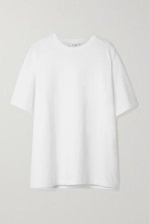 Aprila Cotton T-shirt - White