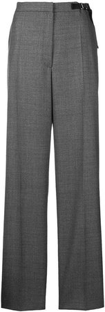 welt pocket tailored trousers