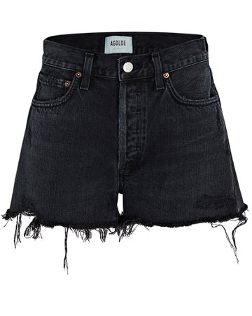 AGOLDE Parker Cut-Off Denim Shorts   INTERMIX®