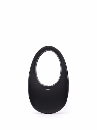 Shop Coperni curved leather tote bag with Express Delivery - FARFETCH