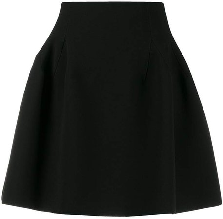 flared mini skirt