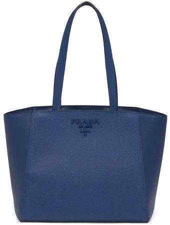 Logo Plaque Tote Bag