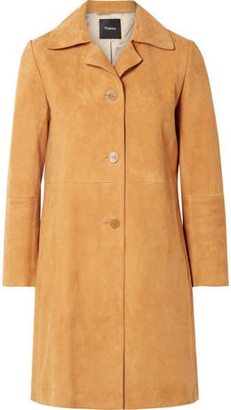 Suede Coat - Marigold