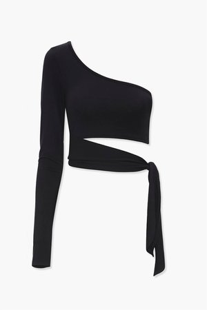 Cutout One-Shoulder Top | Forever 21
