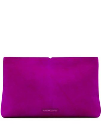 Giuseppe Zanotti V Kym Clutch Bag IB90008003 Pink | Farfetch