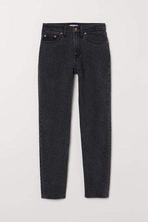 Mom Jeans - Black