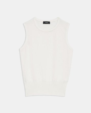 Silk-Cotton Shell Top | Theory