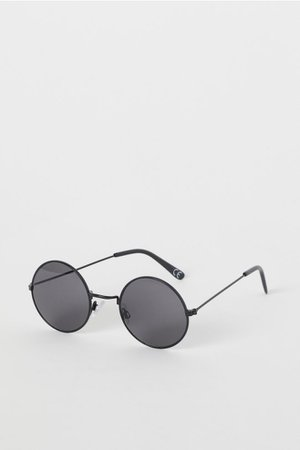 Round sunglasses - Black - | H&M GB