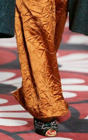 Miu Miu Crystal Satin Sandals