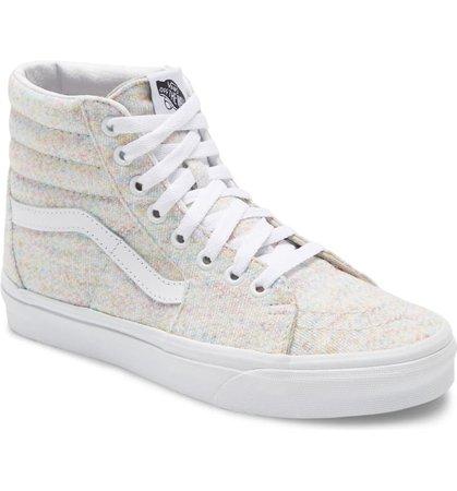 Vans Sk8-Hi Knit Sneaker (Women) | Nordstrom