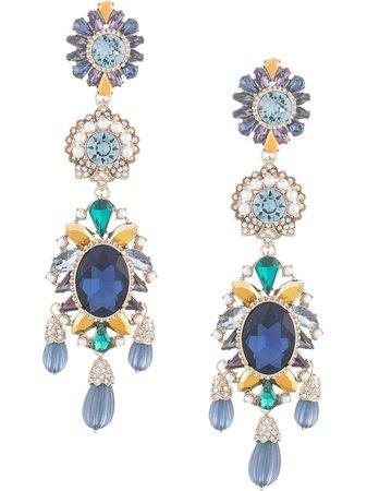 Marchesa, Regal Affair Embellished Earrings