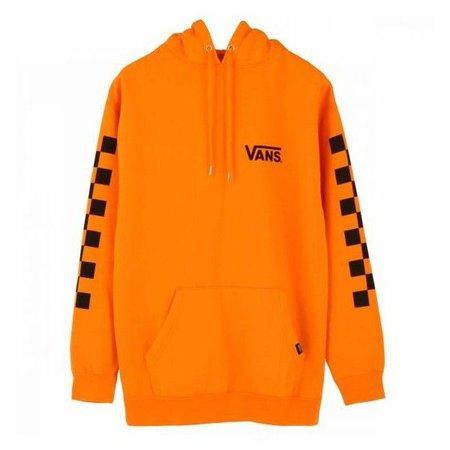 Orange Vans Checkered Sweatshirt