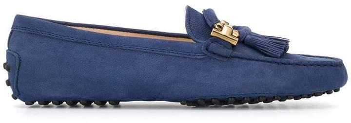 tassel upper loafers