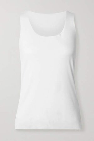 Net Sustain Aurora Pure Stretch-modal Jersey Tank - White