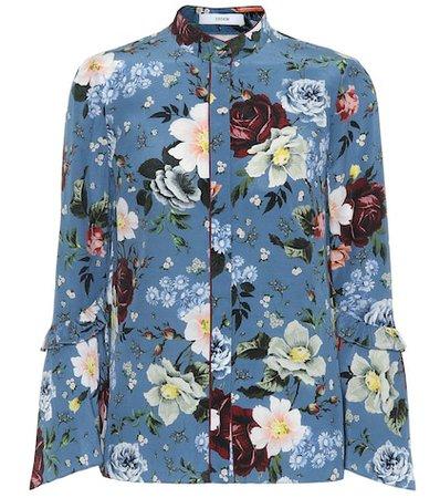 Alvery silk crêpe de chine shirt