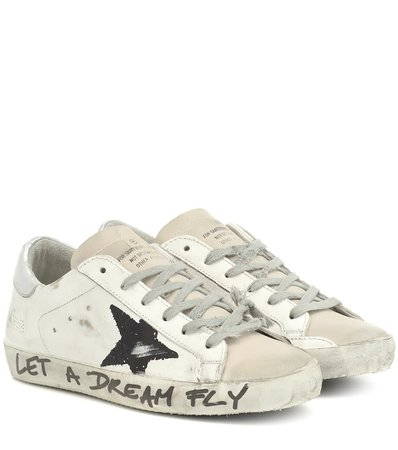 Golden Goose - Superstar leather sneakers | Mytheresa