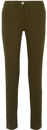 James Purdey & Sons - Mid-rise Skinny Jeans - Army green